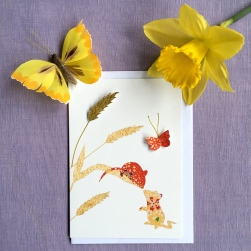 A Mouse's Tale Greetings Card
