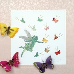 Winged Dreams Fine Art Print