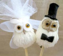 owlweddingtopper