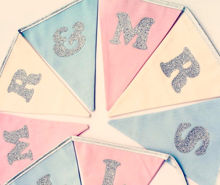 Personalised wedding bunting copy