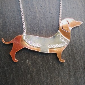 dachshun necklace