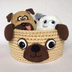 pug basket