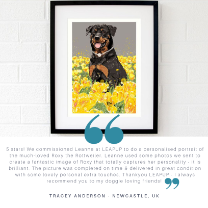 Pet_portrait_commission_rottweiler