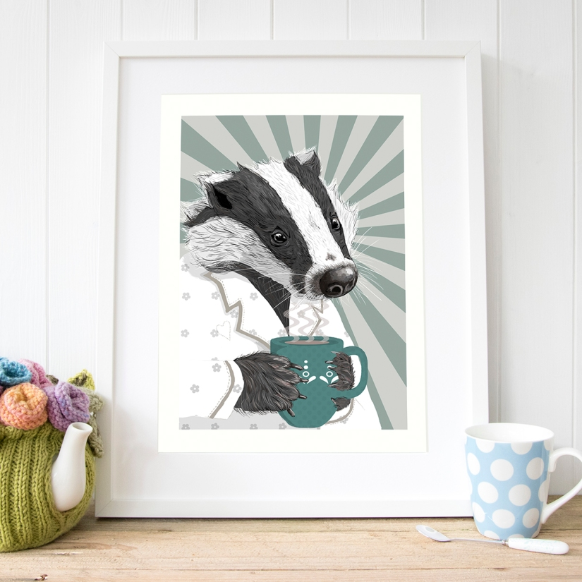Badger_art